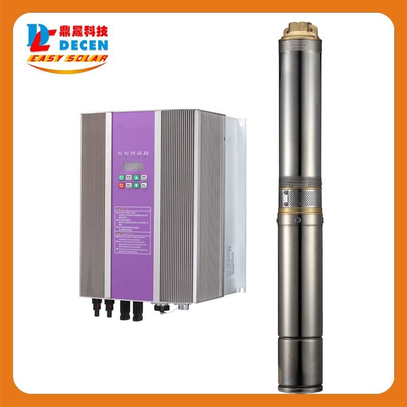 DECEN@ 370W AC Water Pump+750W Solar Pump Inverter For Solar Pump System Adapting water head(47-32m),Daily Water Supply(1-10m3),(China (Mainland))