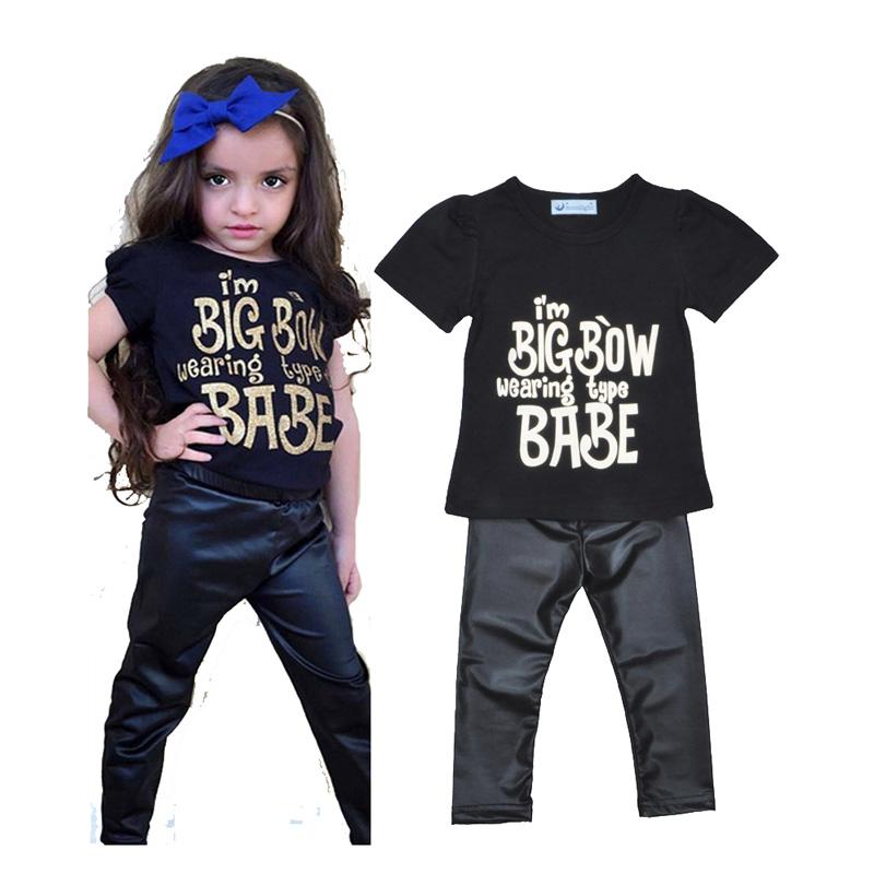 Buy toddler girls clothing set summer for Dark denim toddler shirt