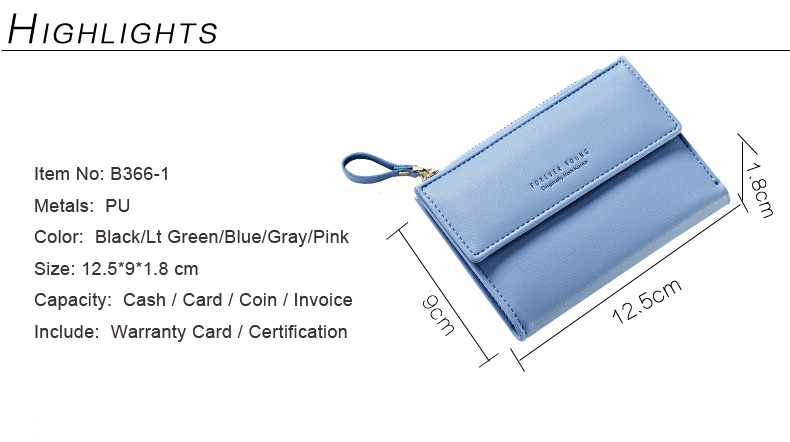 HTB1H4WOQFXXXXXhXpXXq6xXFXXXr - WEICHEN Hasp & Zipper Short Standard Wallet, Hot Fashion PU Leather Solid Coin Card Purse Wallets For Women Lady Clutch Carteras