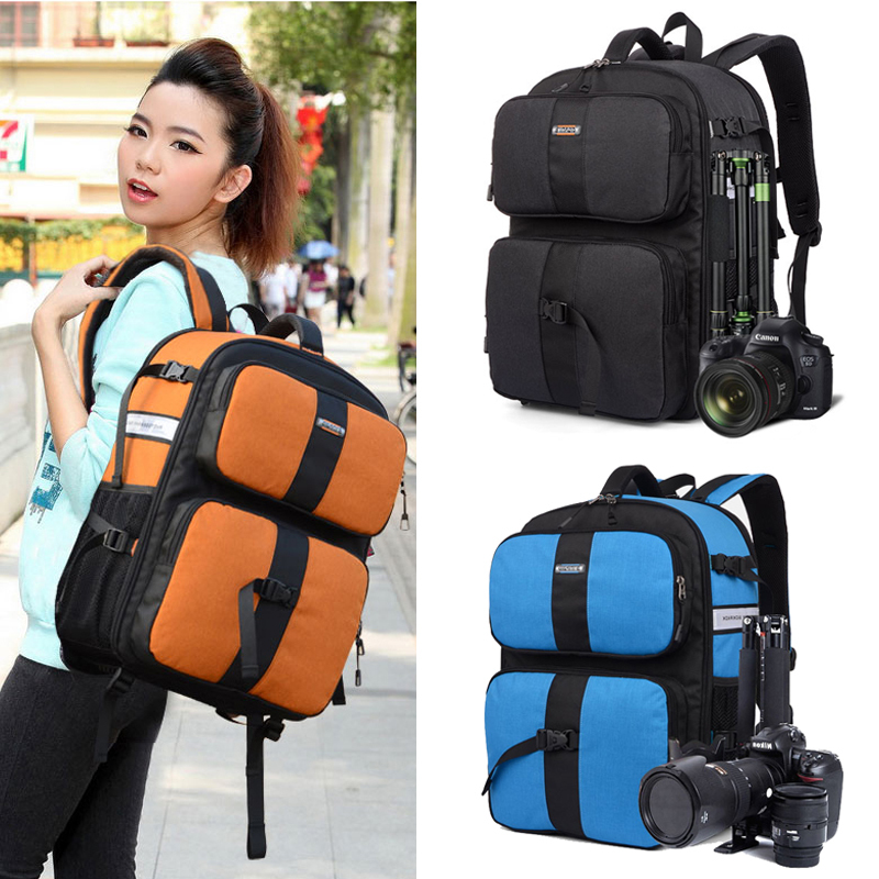 Professional Waterproof SLR DSLR Camera Bag Mochila Camera Backpack For Canon EOS 5D 7D Nikon 90D Travel Photo Video Bag Case(China (Mainland))