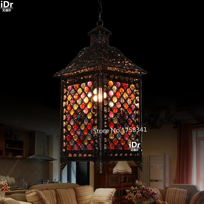 mood lamp living room lights bedroom house antique retro rustic lamp. Black Bedroom Furniture Sets. Home Design Ideas