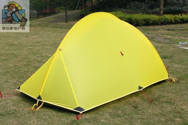 2016 Ultra light Top quality 3F 3 season 2 person Aluminum ...