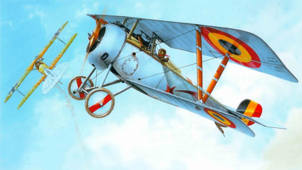 nieuport ni-23 a French airplane company Home Decoration Canvas Poster Prints(China (Mainland))