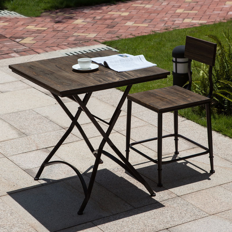 Small Dining Table New Simple Wood Dining Table Outdoor Folding Table