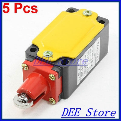5 Pcs Parallel Roller Plunger Actuator NO NC SPDT Momentary Limit Switch<br><br>Aliexpress