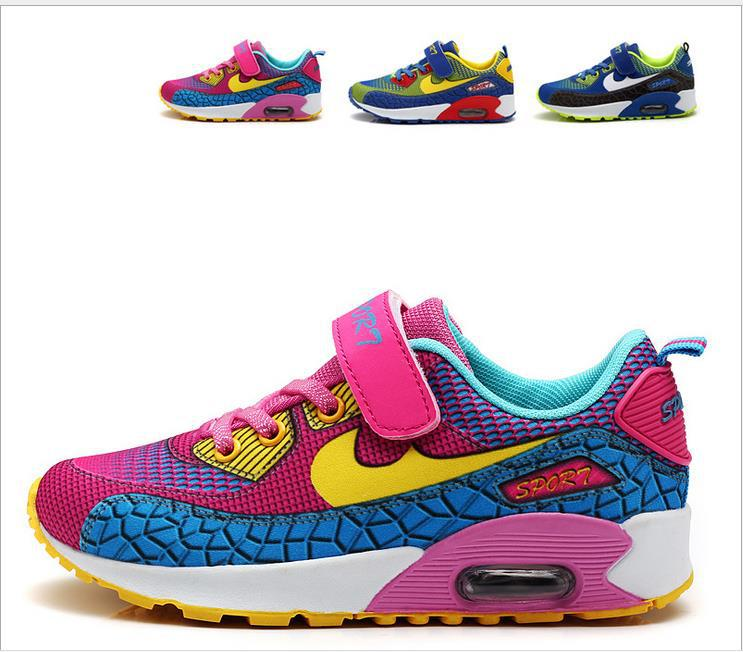 Sponge mice Brand Children shoes boys sneakers girls running shoes Size 25-37 child leisure trainers breathable kids sportshoes(China (Mainland))