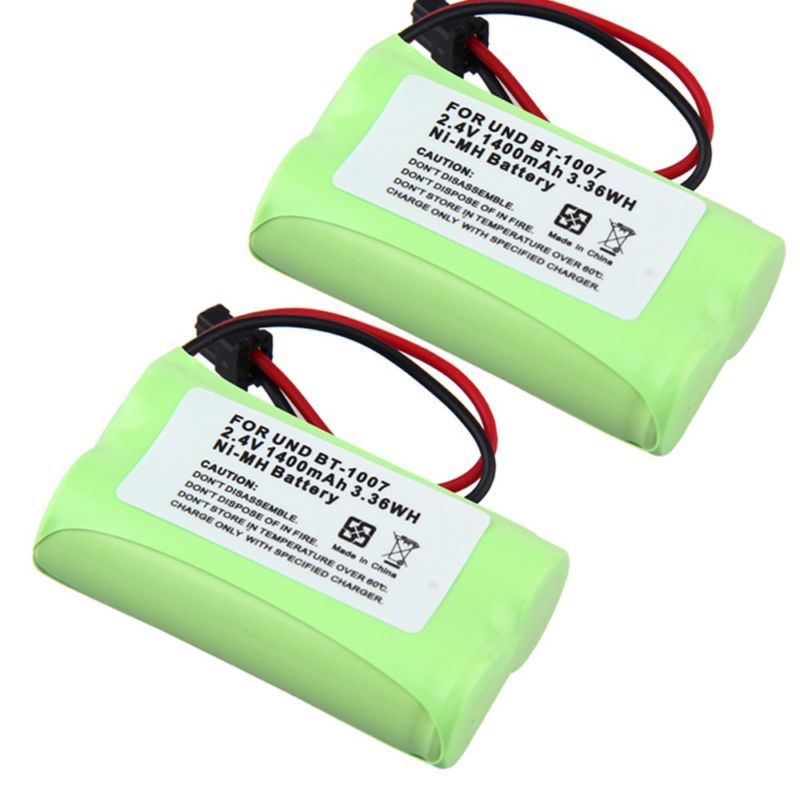 2pcs 1400mAh Home Phone BT-1007 Battery For Uniden DECT 6.0 models BBTY0624001(China (Mainland))