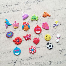 ( For diy jewelry ) 100Pcs Soft Rubber Small Animal Designs Charms Pendants + ( FREE gift : 100pcs Jump Rings )(China (Mainland))
