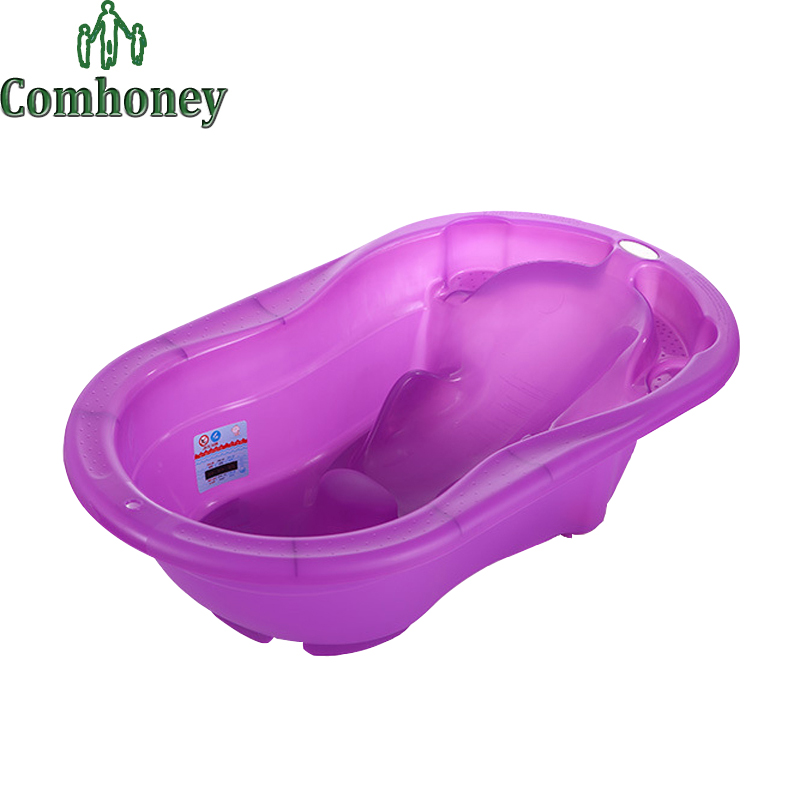 Baby Bathtub Large Plastic Safety Bath Tub for 0-3 Years Old Toddlers Kids Protable Swimming Pool for Newborn Infant Bath Shower(China (Mainland))