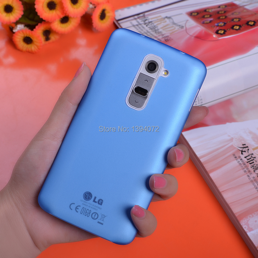 0.3mm Ultrathin Transparent Protector Case Cover Hard Back Housing Shell Phone Bag For LG Optimus G2 D802(China (Mainland))