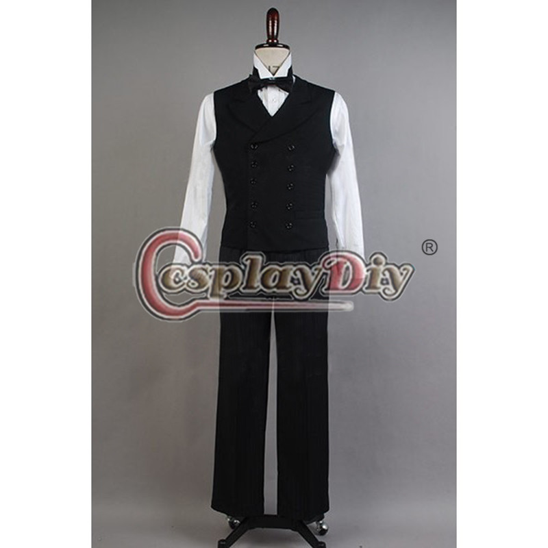 Oz The Great and Powerful Oscar Diggs Cosplay Costume Halloween Coat Pants Suit Custom Made D0625