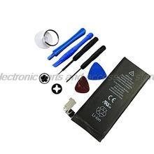 1420mAh Genuine Li-ion Mobile Phone Accessory Replacement Battery Pack with 8 pcs Tool Kit for iPhone 4 4G
