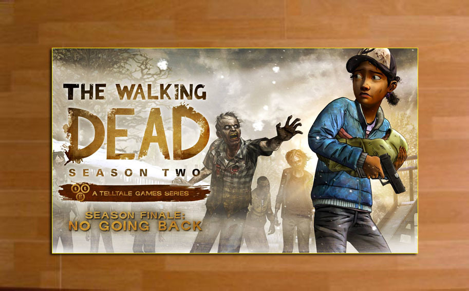 """TW22G   Game Poster  The walking dead s2  High-quality Posters Prints (15"""" * 27"""")"""