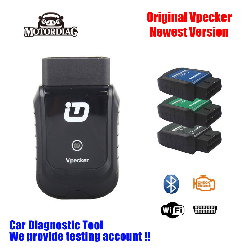 2016 Wifi Vpecker Easydiag As Launch X431 iDiag OBD2 Code Scanner Diagnostic Tool Scaner Automotriz Online Update(China (Mainland))