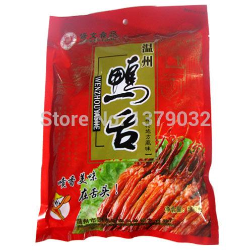480 г Китай Вэньчжоу вэньчжоу по специальности соусе утка утка язык язык независимые небольшой пакет утки язык равнина