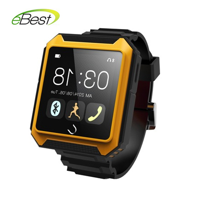 TRAVEL TRICKS Uterra Bluetooth Smart Watch IP68 1.6 Inch screen Remote Pictures Dustproof Sync For andriod IOS cell phone(China (Mainland))