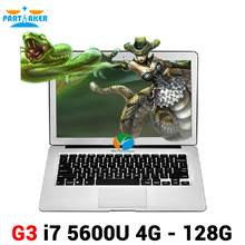 Buy Partaker 13.3 inch Intel i7 5600u Notebook Laptop Computer Bluetooth Webcam 7000mah Battery for $621.00 in AliExpress store