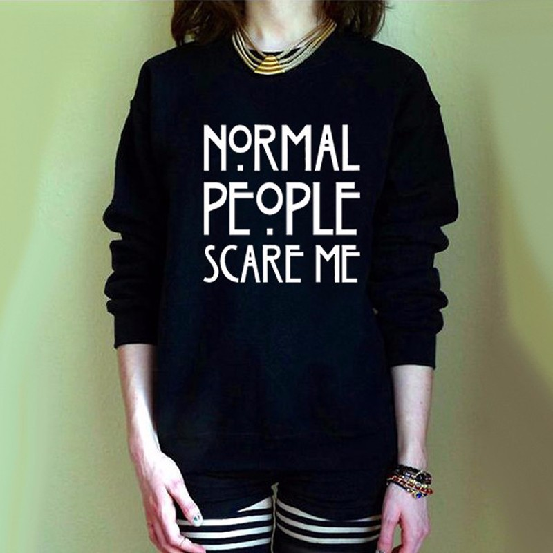 2016 women knitted normal people pullover sweater sueter camisa female pull femme vetement jersey ropa funny punk mujer jumper