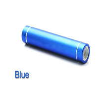 Newest led torch Portable tube cylinder shape alibaba express power bank with 2600mah
