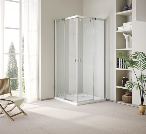 900 x 900 x 1950mm Excellent Corner Bathroom Door Sliding Glass Shower Cabin with Shower Roller DY-DS694B(China (Mainland))