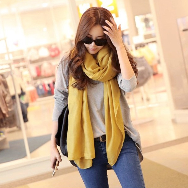 2015 scarf cotton scarves new veil scarf women's oversized Candy with yarn pure silk scarf in Bali Sun shawl scarf manufacturers(China (Mainland))