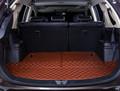 High quality car trunk mat for Mitsubishi Outlander 2013 2016 TPE XPE Anti slip leather trunk