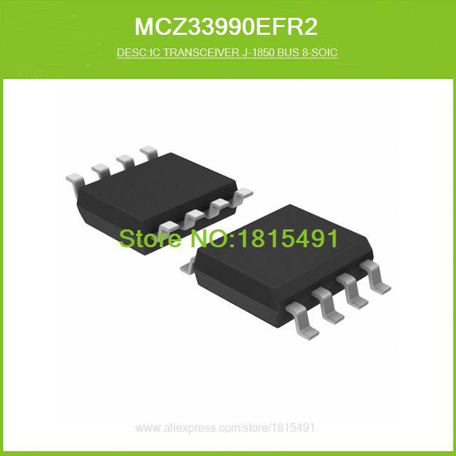 Free Shipping MCZ33990EFR2 IC TRANSCEIVER J-1850 BUS 8-SOIC 33990 MCZ33990 8-SOIC N 10pcs(China (Mainland))