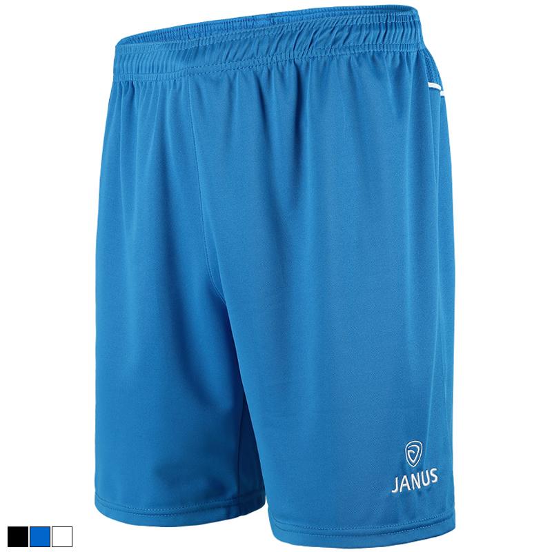 Janus professional breathable mens football shorts sports game training soccer jersey shorts futbol ja510