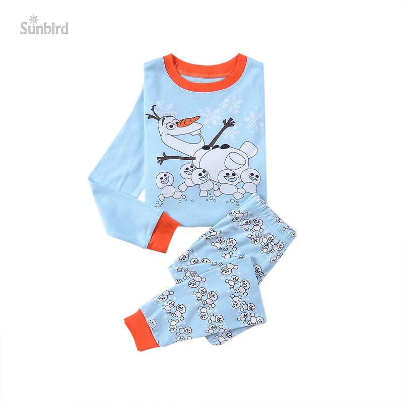 KR-150, snowman, 6sets Children boys pajamas, 100% Cotton long sleeve sleepwear clothing sets for 2-7 year.<br><br>Aliexpress