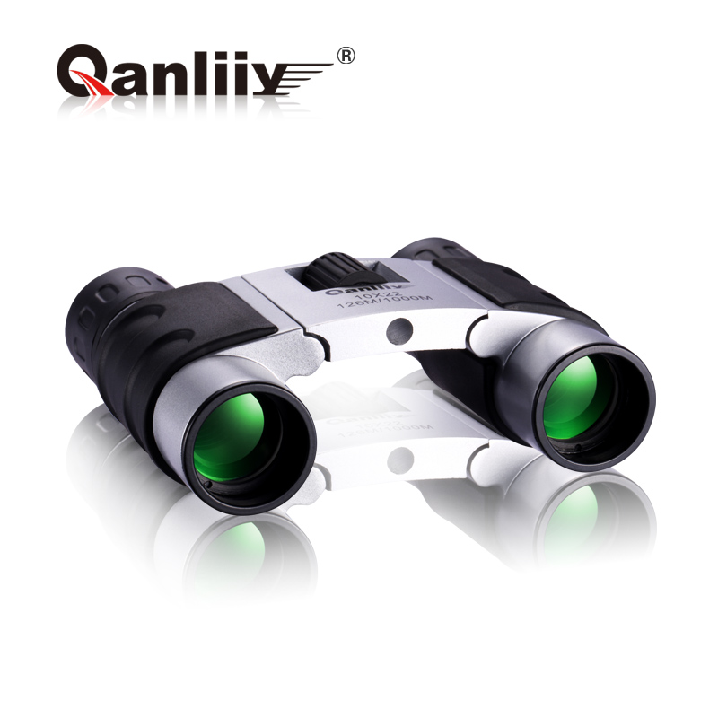 Binoculars pastureland pocket-size telescope night vision hd mini portable glasses binocular telescope free shipping(China (Mainland))