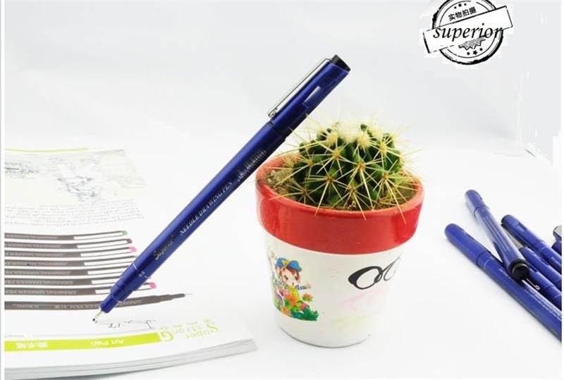 9 sets of pens, cartoon pen, line drawing pen, pen drawing.