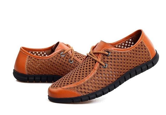 Мужчины сандалии новых прибыть мужская свободного покроя сандалии супер-дышащие отверстие ...