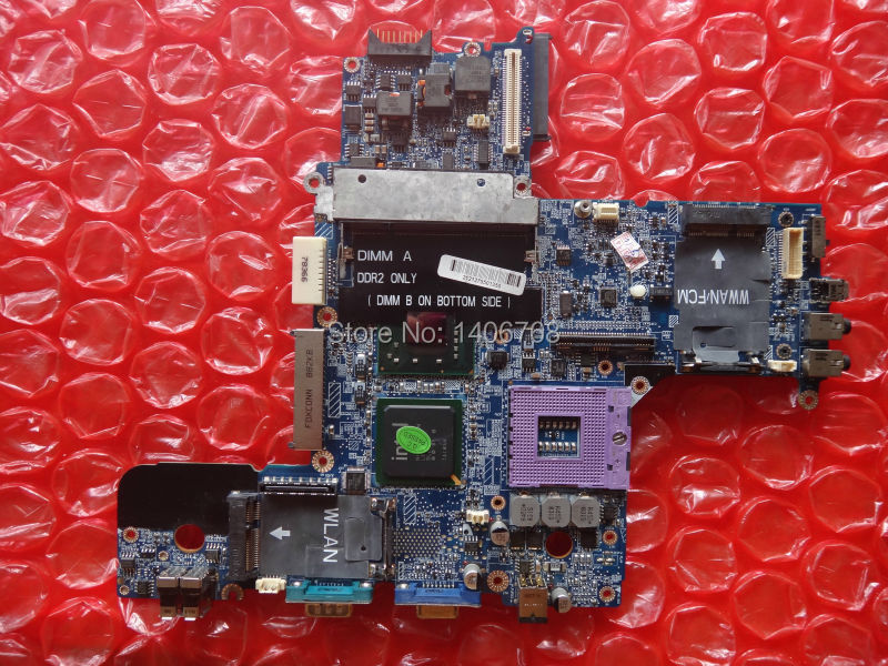 D630 Free Shipping Genuine Laptop motherboard for Dell D630 DT781 0PN302 intel integrated fully tested and 60 days warranty(China (Mainland))