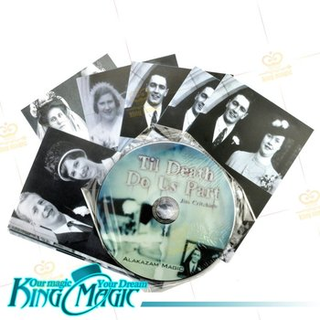 Til Death Do Us Part-King Magic Trick Magie Magia Free Shipping