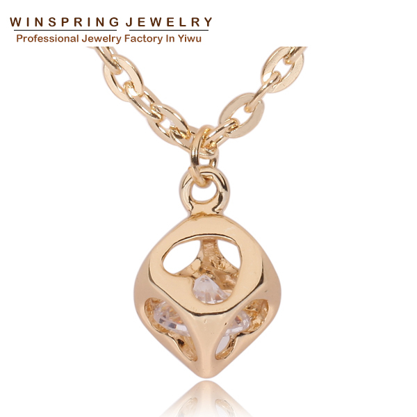 2015 New Women Fashion Casual Personality Infinity Cross Statement Pendant Gold Plated Necklace(China (Mainland))