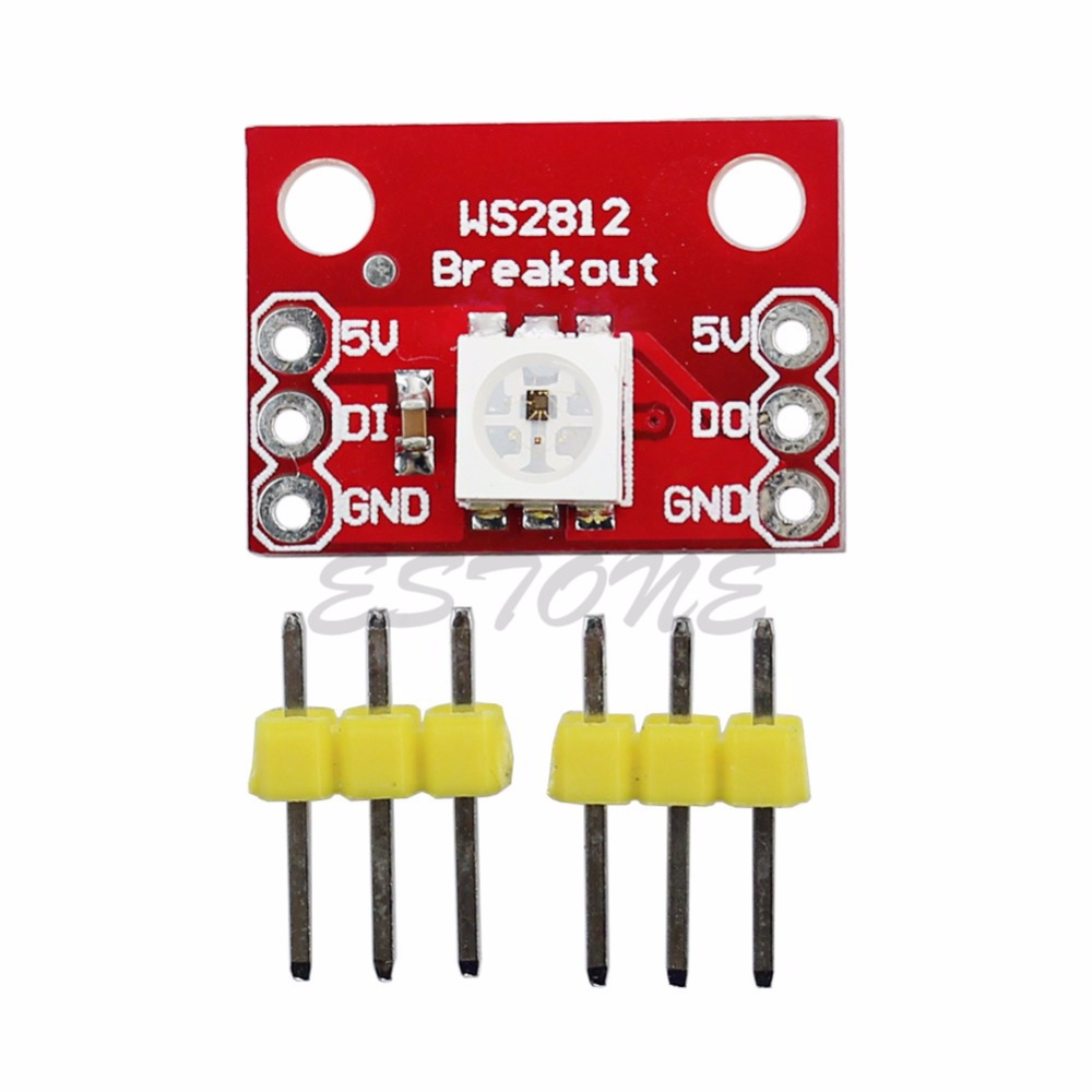 5pcs/lot for RGB LED Breakout Module WS2812 RGB LED Module For arduino Professional(China (Mainland))