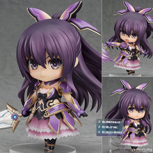 Free Shipping Cute 4″ Nendoroid Date A Live Yatogami Tohka PVC Action Figure Model Collection Toy