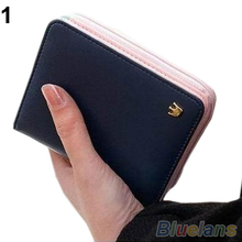 New Women Card Coin MONEY holder Wallet PU Leather HANDBAG Clutch Purse Bag 1HGP