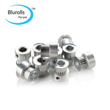 Buy 3d printer accessory MXL synchronous pulley kit ultimaker aluminium alloy inner bore:5/8 mm NC machining teeth:20 for $37.33 in AliExpress store