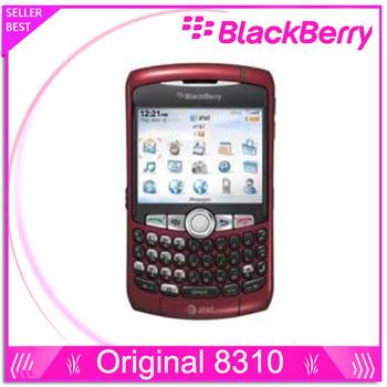 Телефон Blackberry 8310, кривая разблокированный Smart четвёрка - лента сотовый 2 mp с bluetooth mp3