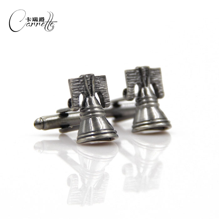 [Custom cufflinks factory outlets] new bell shape cufflinks Cufflinks Men's French shirt cufflinks(China (Mainland))