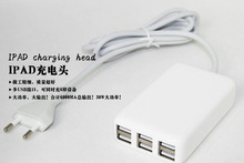 Buy 6 USB Ports US/EU/UK Plug 30W USB Charger AC Power Adapter Home Travel Wall Charger iPad iPhone iPad DC 5V 2A/6A for $5.39 in AliExpress store