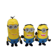 Mini Portable Speaker Cute Minion Despicable Me 2 Speakers Micro SD TF Card USB MP3 Music Player Hifi Amplifier for Phone Gift