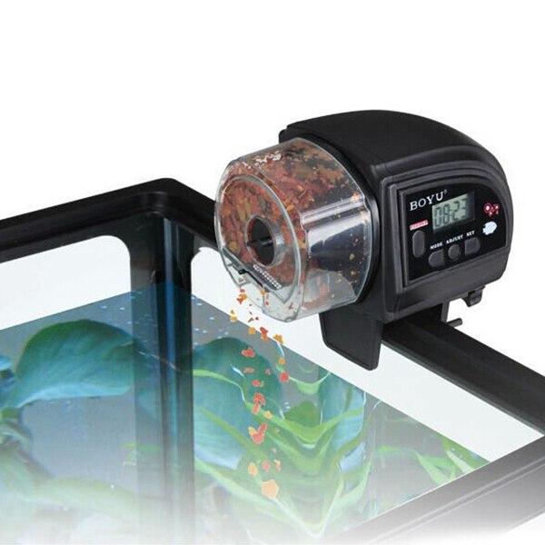 BOYU ZW-82 LED Fish Food Feeder Automatic Aquarium Timer For Fish Tank(China (Mainland))