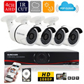 SUNCHAN HD AHD H 4CH 1080P 2 0MP Security Cameras System 4 1080P Outdoor Night Vision
