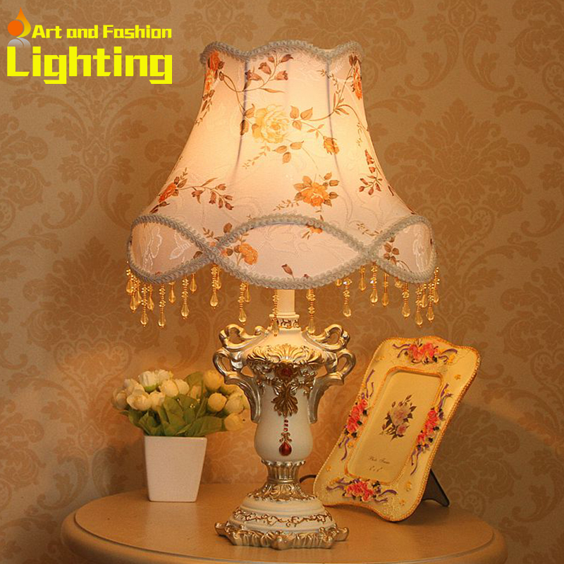 Modern Home Process European Rural Style Palace Alpine 18-inch Table Lamp 8050<br><br>Aliexpress