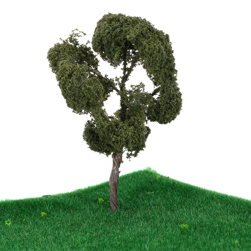 High Quality 3.54 Inch Tree Model Railroad Layout Architectural Landscape Tree Model Scenery Diorama Miniatures 1:150 Scale(China (Mainland))