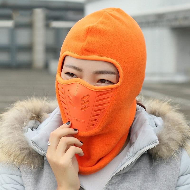 Winter Warm Bike Cycling Wind Stopper Face Mask Motorcycle Neck Helmet Cap For Men Women Sport Thermal Fleece Balaclava Hat Caps(China (Mainland))