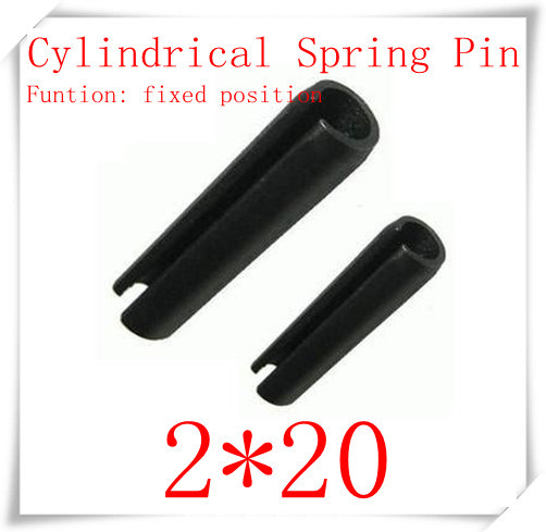 High Quality  2* 20  Elastic cylindrical pin,cylindrical spring pin 200pcs/lot<br><br>Aliexpress
