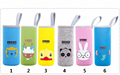 Multifunction Neopreno Termal Cup Portable Cup Warmer Holder Feeder Milk Bottle Bag Neoprene Cartoon Animal Portabiberones